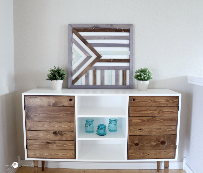 Create your own wooden wall art