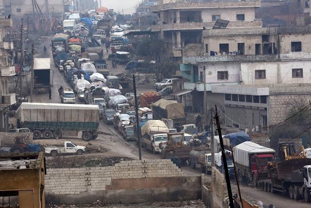 أردوغان يهدد والنظام السوري يتوسع في رقعة سيطرته شمال حلب وحول مدينة إدلب ويقتل جنود الأتراك