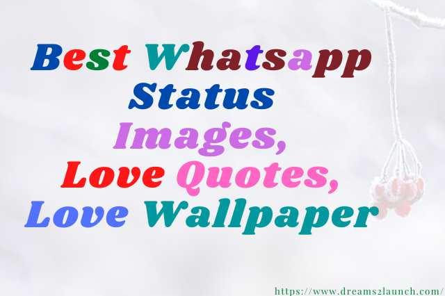 Best Whatsapp status images