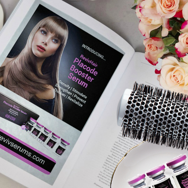 Tips for thinning hair by barbies beauty bits and Revivhair placode booster serum