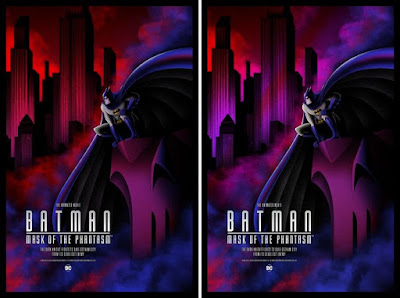 Batman: Mask of the Phantasm Screen Print by Bruce Yan x Grey Matter Art