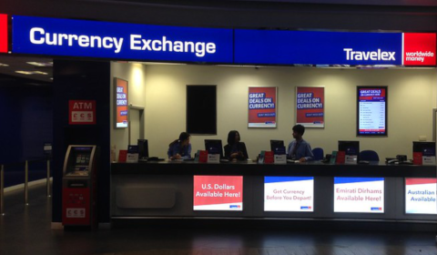 Bureau de change Travelex