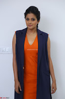 Priyamani in Beautiful Short Deep neck Orange Dress ~  Exclusive 27.JPG