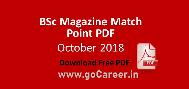 Bsc Magazine October 2018 Edition Match Point Download PDF