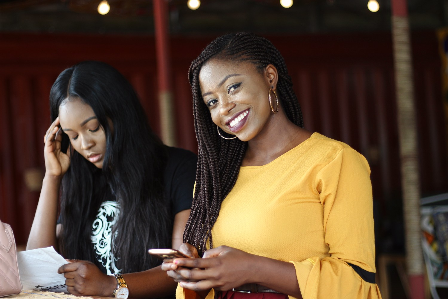 bloggers cafe hopping in Abuja