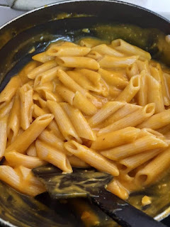 Pumpkin Puree Penne Pasta