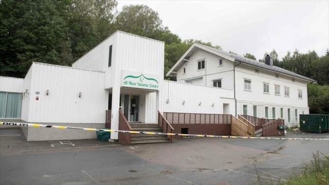 "Noruega tilda de ""intento de acto terrorista"" tiroteo en mezquita"