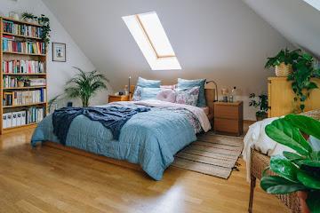 Ktoś spał w moim łóżeczku, czyli metamorfoza sypialni u moich Rodziców