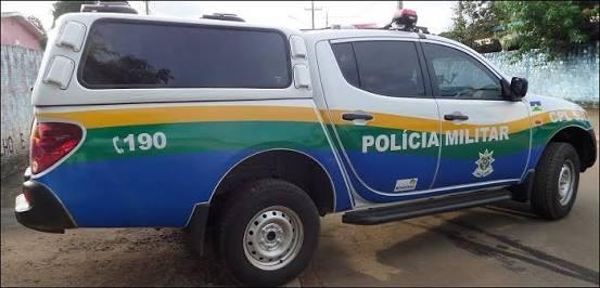 Viatura da policia militar ro