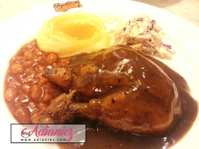 Puas Hati Makan Red Hot Meal Kenny Rogers Roasters