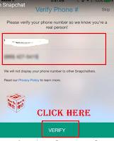 snapchat signup page