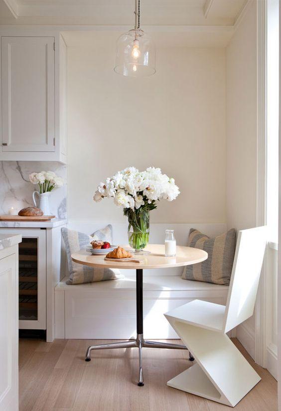 Hogar diez c mo crear un office en una cocina peque a - Cocinas super pequenas ...