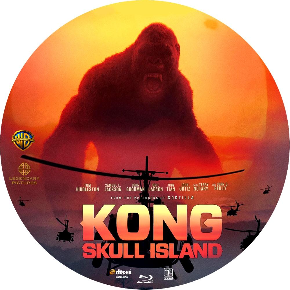 Kong Skull Island Blu Ray Covers