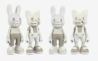 Lil' Helpers Janky & Guggi Glow Edition Vinyl Figures by Superplastic
