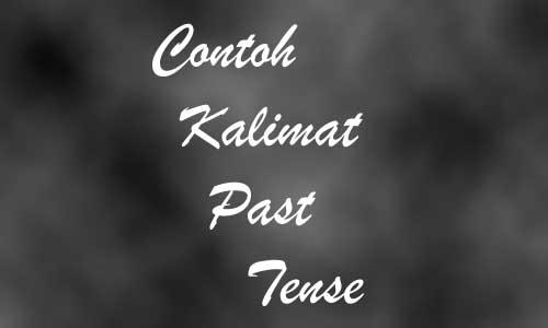 Contoh Kalimat Past Tense Verbal Nominal Beserta Arti
