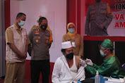 Tokoh Lintas Agama di Polres Lobar Nyatakan Vaksin Covid-19 Halal dan Aman