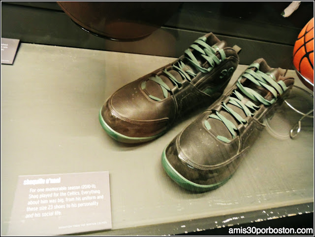 Shaquille O'Neal TD Garden Museo Boston