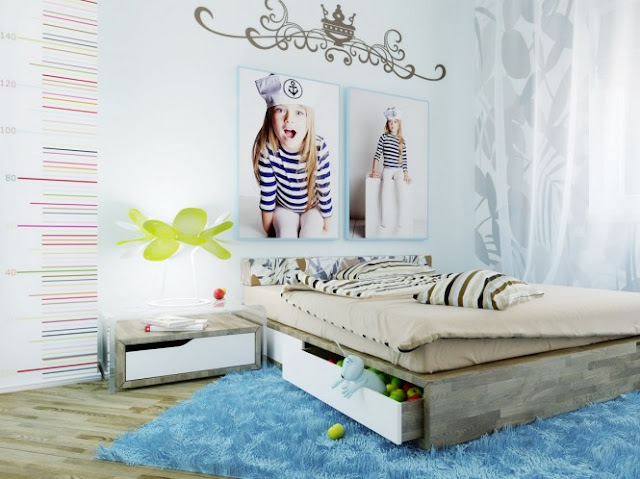 Dormitorios juveniles para mujeres for Decoracion de cuartos para ninas grandes