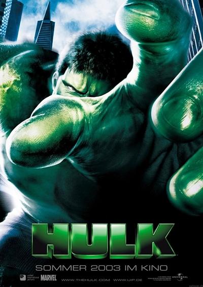 Póster película Hulk