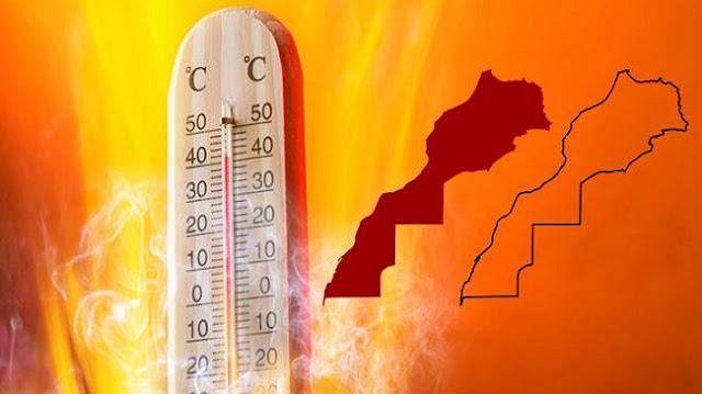 نشرة خاصة..موجة حر من الخميس إلى الإثنين والمحرار يسجل 49 درجة