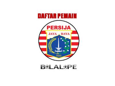 Daftar Pemain Persija Jakarta Di Gojek Traveloka Liga 1 2017/2018