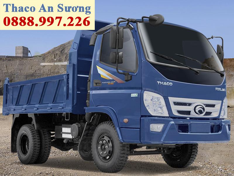 Xe ben Forland Thaco FD350.E4 tải trọng 3,49 tấn, thùng 2,9 khối