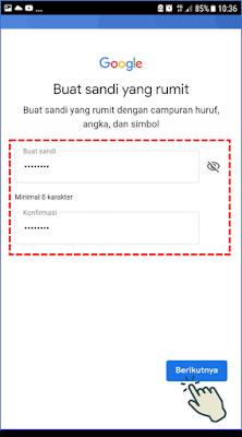 Cara 2 : Membuat Akun Gmail Melalui Aplikasi Gmail 9