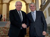 Mengharukan! Temui Presiden Palestina, Ini Harapan Mulia Menlu Spanyol Alfonso Dastis