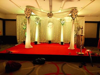 wedding stage decorations kerala
