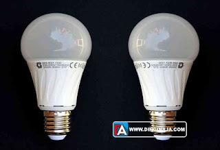perbedaan lampu LED dan pijar
