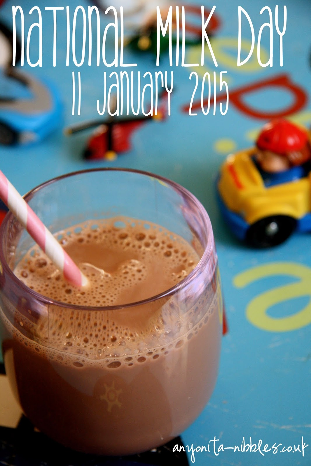 11 January 2105, National Milk Day from Anyonita-nibbles.co.uk