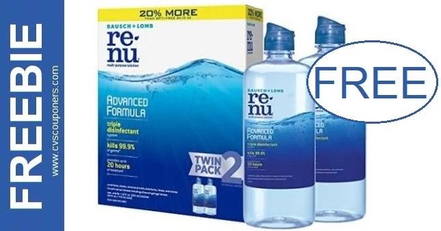 FREE Renu Solution at CVS 7-11-7-17