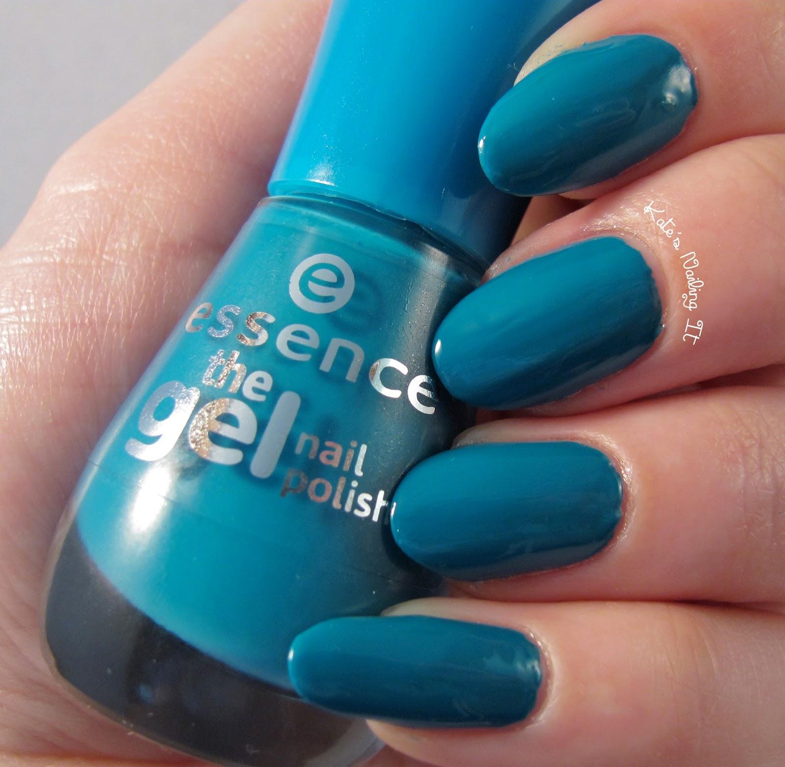 Kate\'s Nailing It: Essence: The Gel Nail Polish wear test