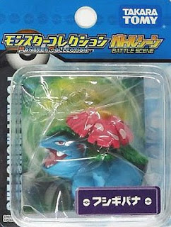 Venusaur Pokemon figure Takara Tomy Monster Collection battle scene series