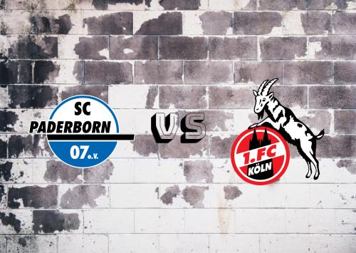 Paderborn vs Köln  Resumen