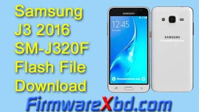 Samsung J3 2016 SM-J320F Flash File