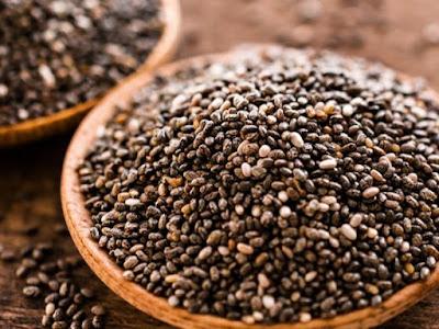 las semillas de chia