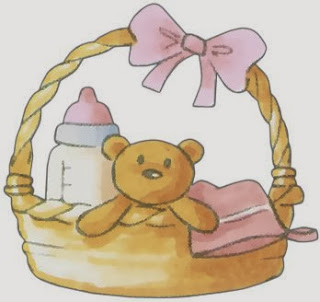 Free Printable image of  Baby Toys and Goodies.