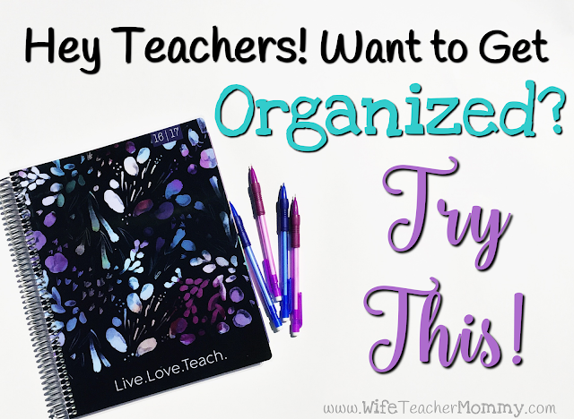 Getting Organized with a Plum Paper Teacher Planner