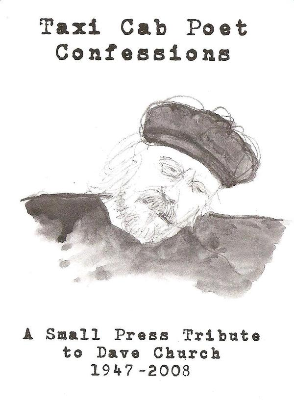 Taxi Cab Poet Confessions: A Tribute to Dave Church book cover