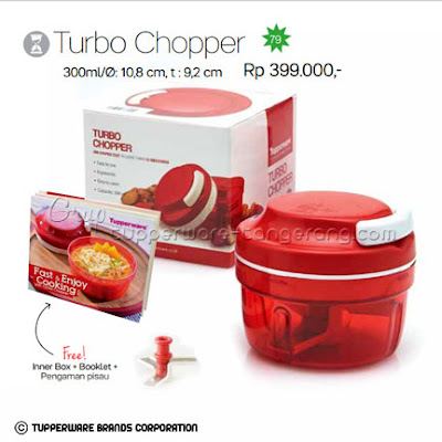 Turbo Chopper Promo Tupperware April 2016