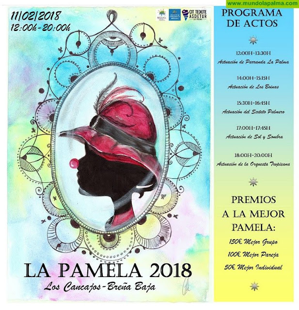 Breña Baja se pone 'La Pamela' para dar la bienvenida a su carnaval