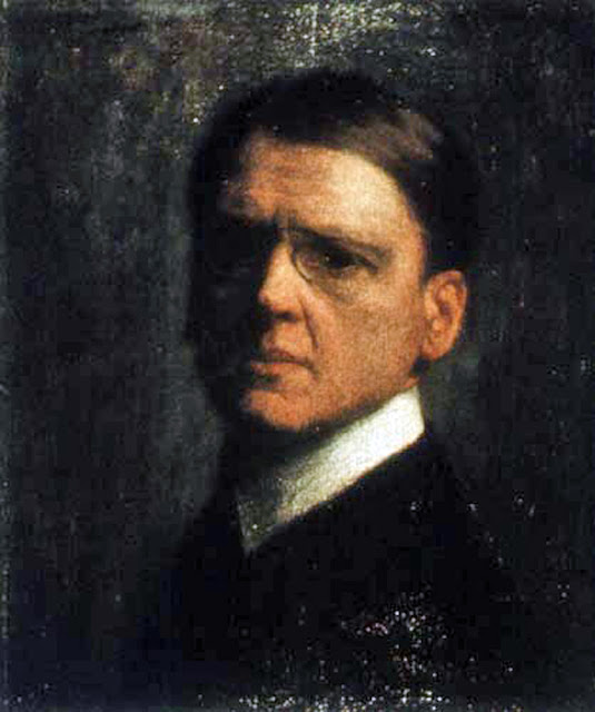 Józef Pankiewicz, Portrait of Painters, Self Portrait