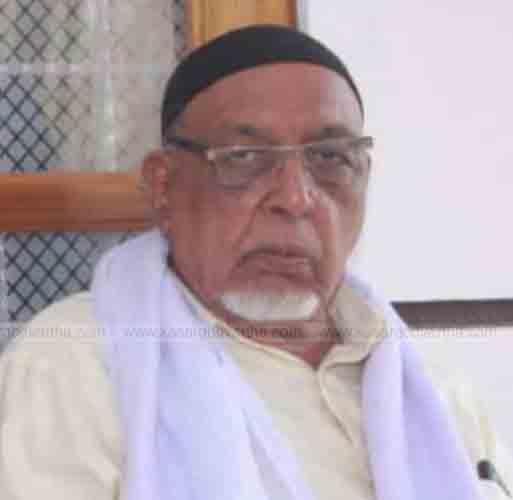 KP Kunhahmad Musliyar from Ziarathinkara passed away