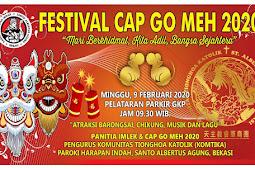 Festival Cap Go Meh 09 Februari 2020