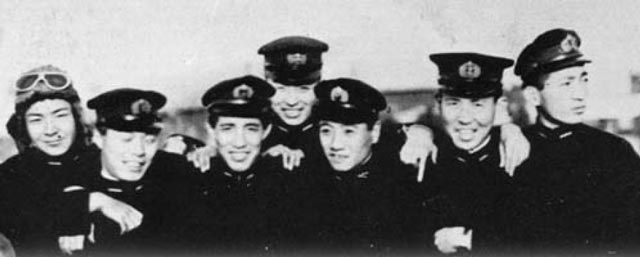 Mitsuo Fuchida graduates from flight school in 1927 worldwartwo.filminspector.com