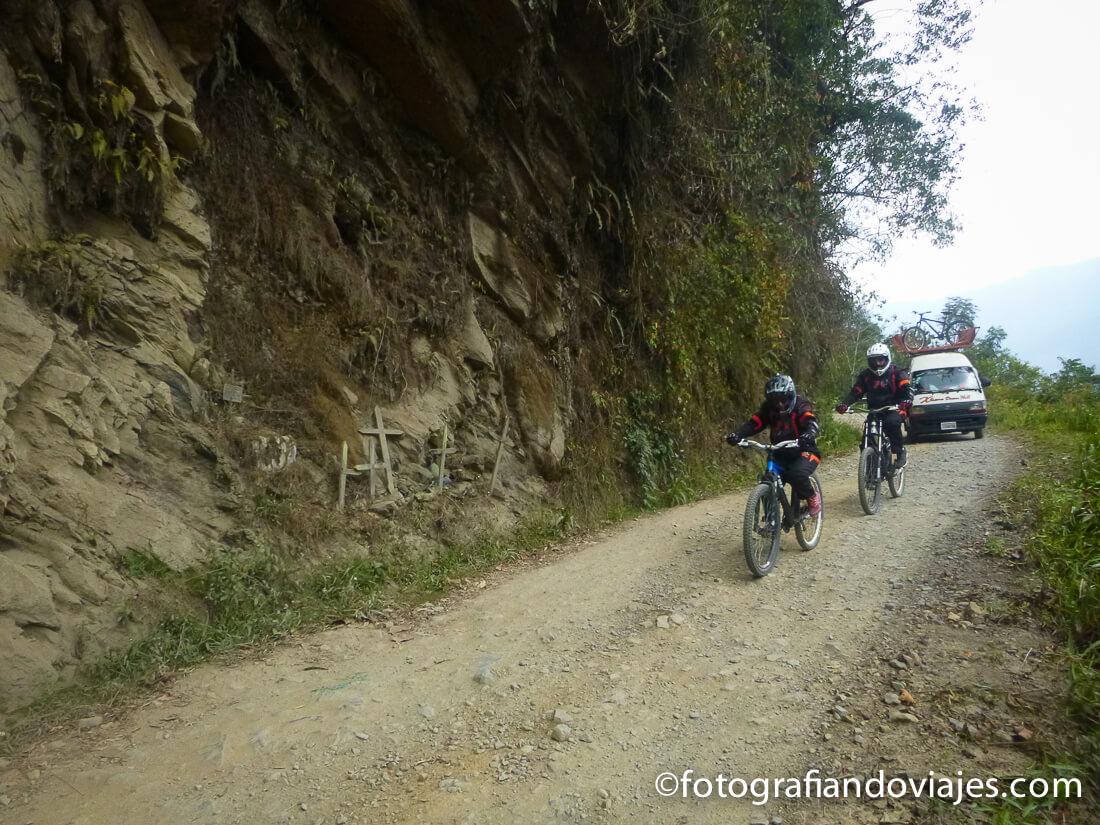Carretera de la muerte en bicicleta - Los yungas