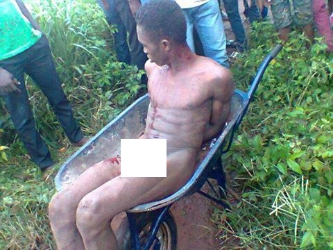 Two Guys Burnt To Death For Stealing Wheel Barrow image 1