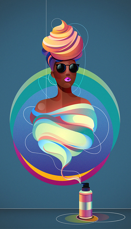 Las ilustraciones y diseños de Chiara Vercesi