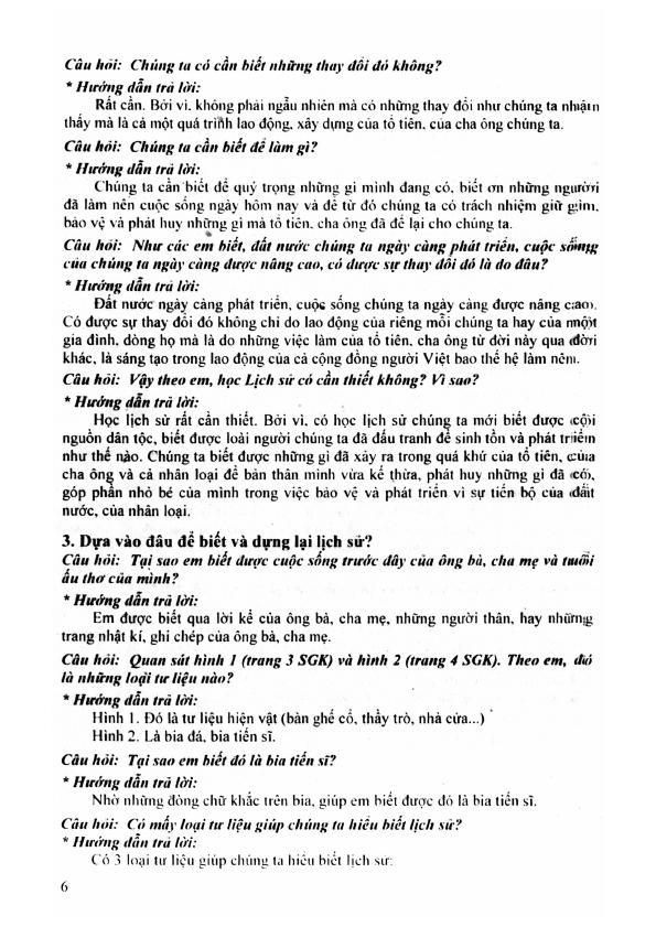 Trang 5 sach Hướng Dẫn Trả Lời Câu Hỏi và Bài Tập Lịch Sử 6 - Tạ Thị Thúy Anh